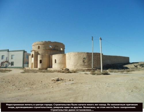 albert markhabaeyv aktau mosque unfinisehd