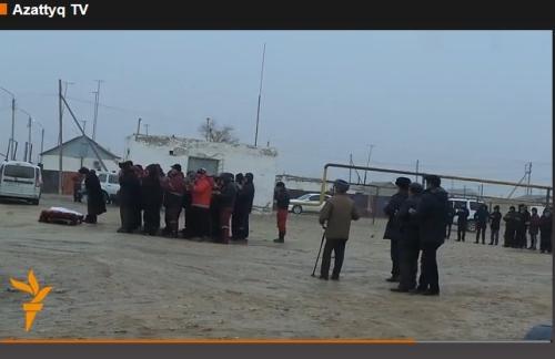funeral of Assem 16.12.2014 azattyq